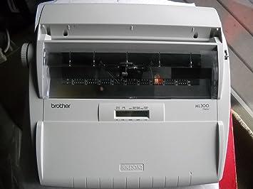 Brother ml-300 diccionario electrónico máquina de escribir – Daisy rueda – 12 cps –