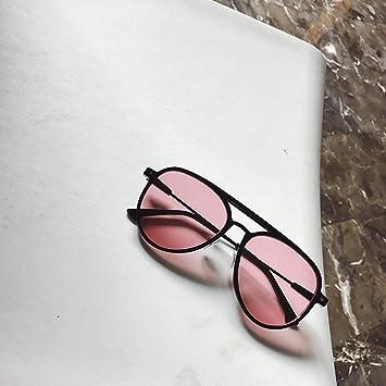 VVIIYJ Gafas de Sol Negras Gafas de Sol Redondas Femeninas ...