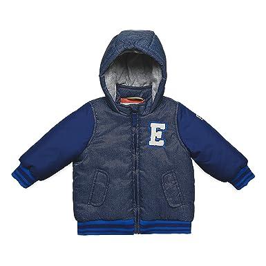 ESPRIT Kids Baby Jungen Jacke RK42002, Blau (Deep Indigo 491