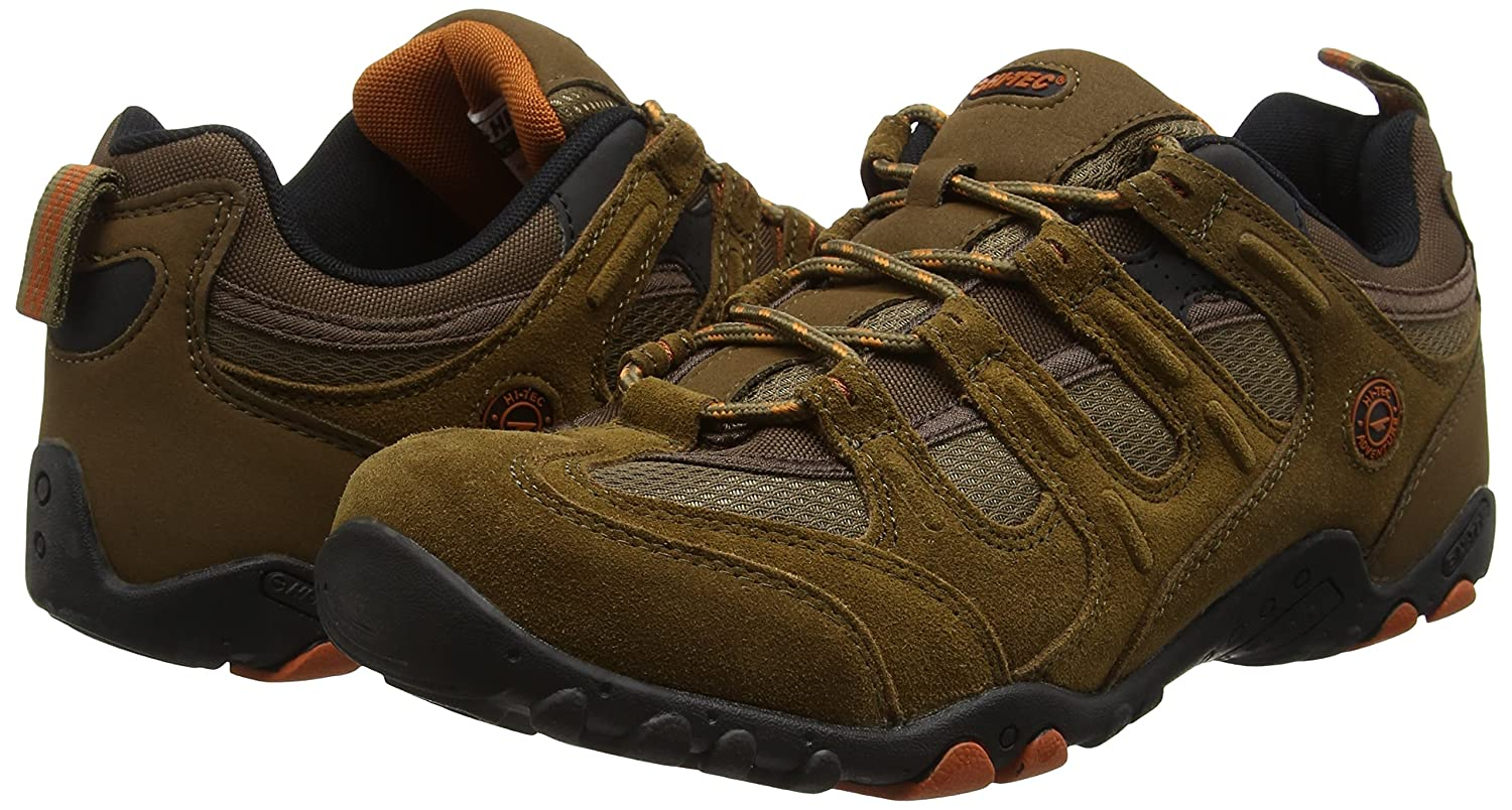 Amazon.com | Hi-Tec Quadra Classic Walking Shoes - AW17 - 10 - Brown | Shoes