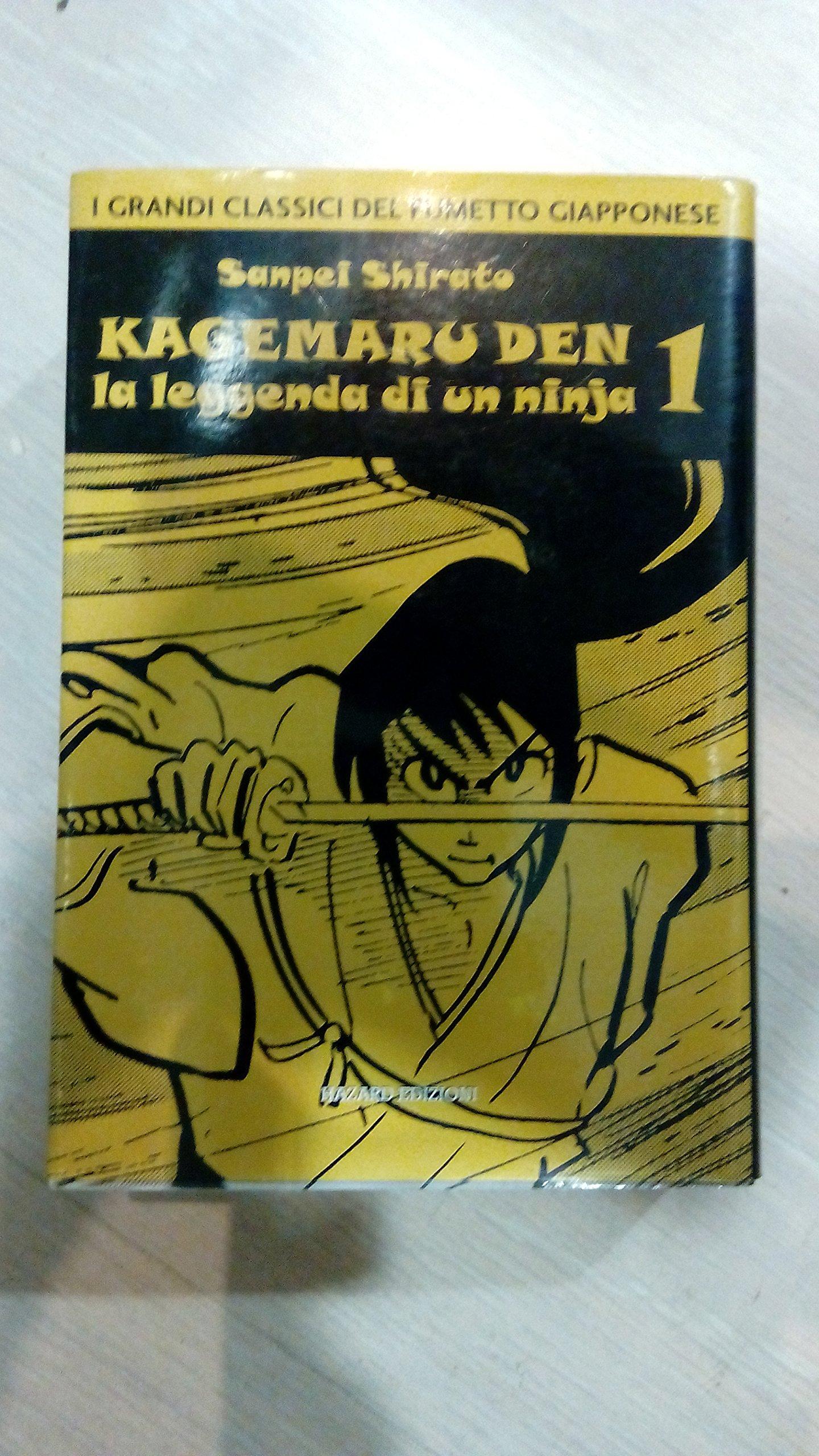 KAGEMARU DEN (m4) N.1 - LA LEGGENDA DI UN NINJA: Amazon.es ...