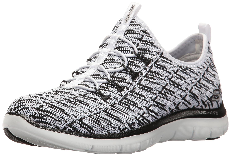 Skechers Women's Flex Appeal 2.0 Insight Sneaker B01IVNDMD4 6.5 B(M) US|White