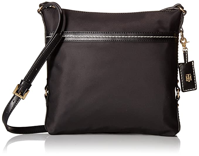 cheaper available sells Tommy Hilfiger Crossbody Bag for Women Work Nylon: Handbags ...