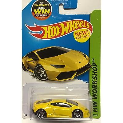 Hot Wheels 2015 HW Workshop Lamborghini Huracan LP 610-4 222/250, Yellow: Toys & Games