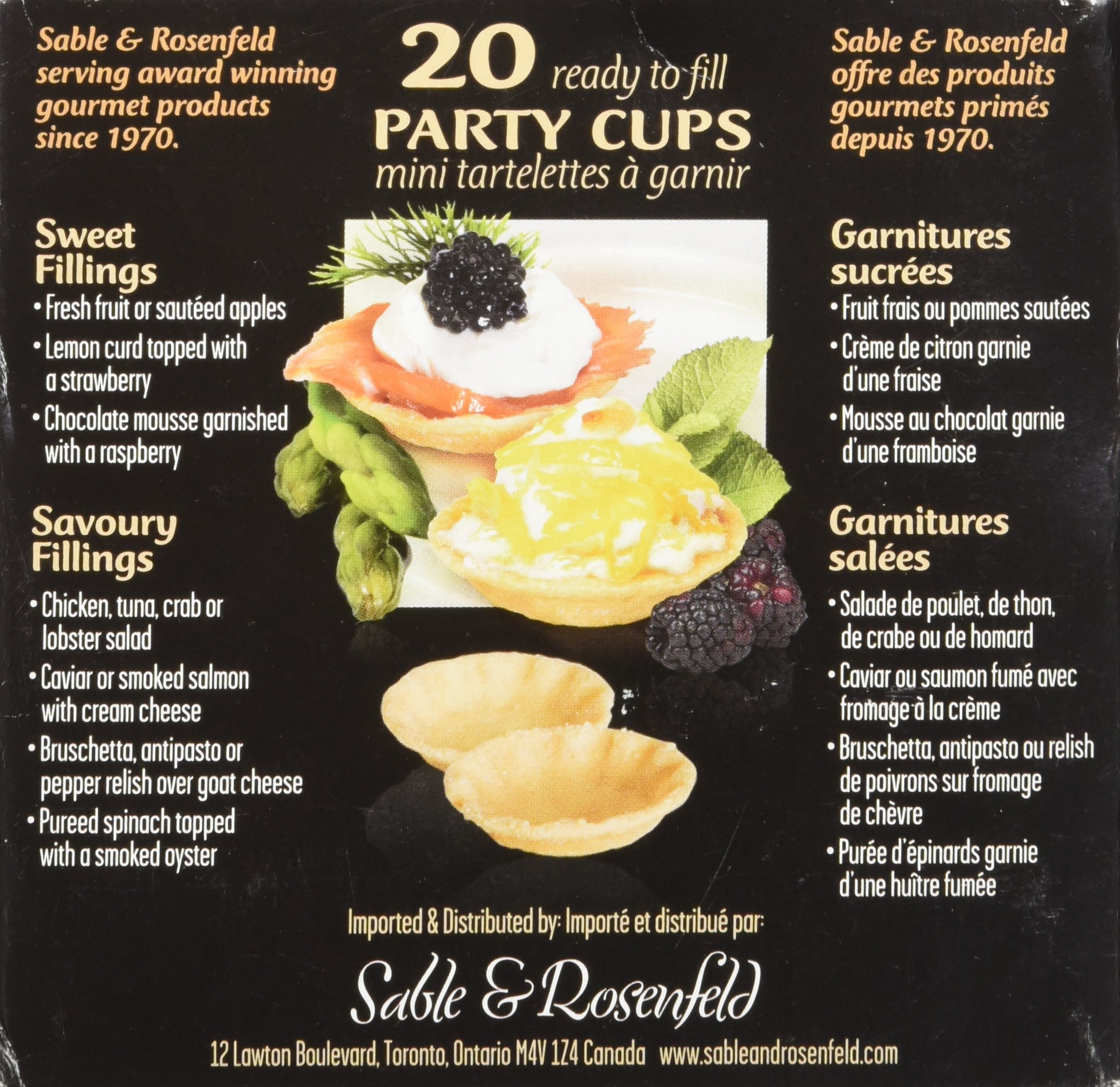 Sable and Rosenfels Party Cups, 20, 2.11-Ounce (Pack of 4) by Sable & Rosenfels (Image #3)