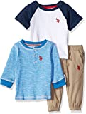 U.S. POLO ASSN. Baby Boys T-Shirt and Pant 3 Piece Set