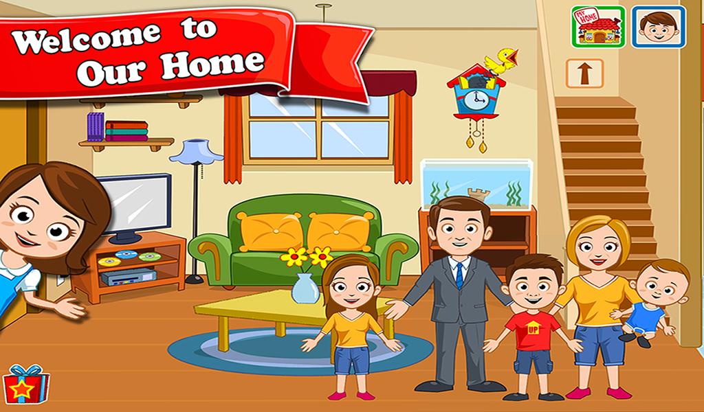 скачать бесплатно игру My Town Home - фото 2