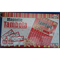 Annie Plastic Magnetic Tambola with 90 Numbers and 600 Tickets