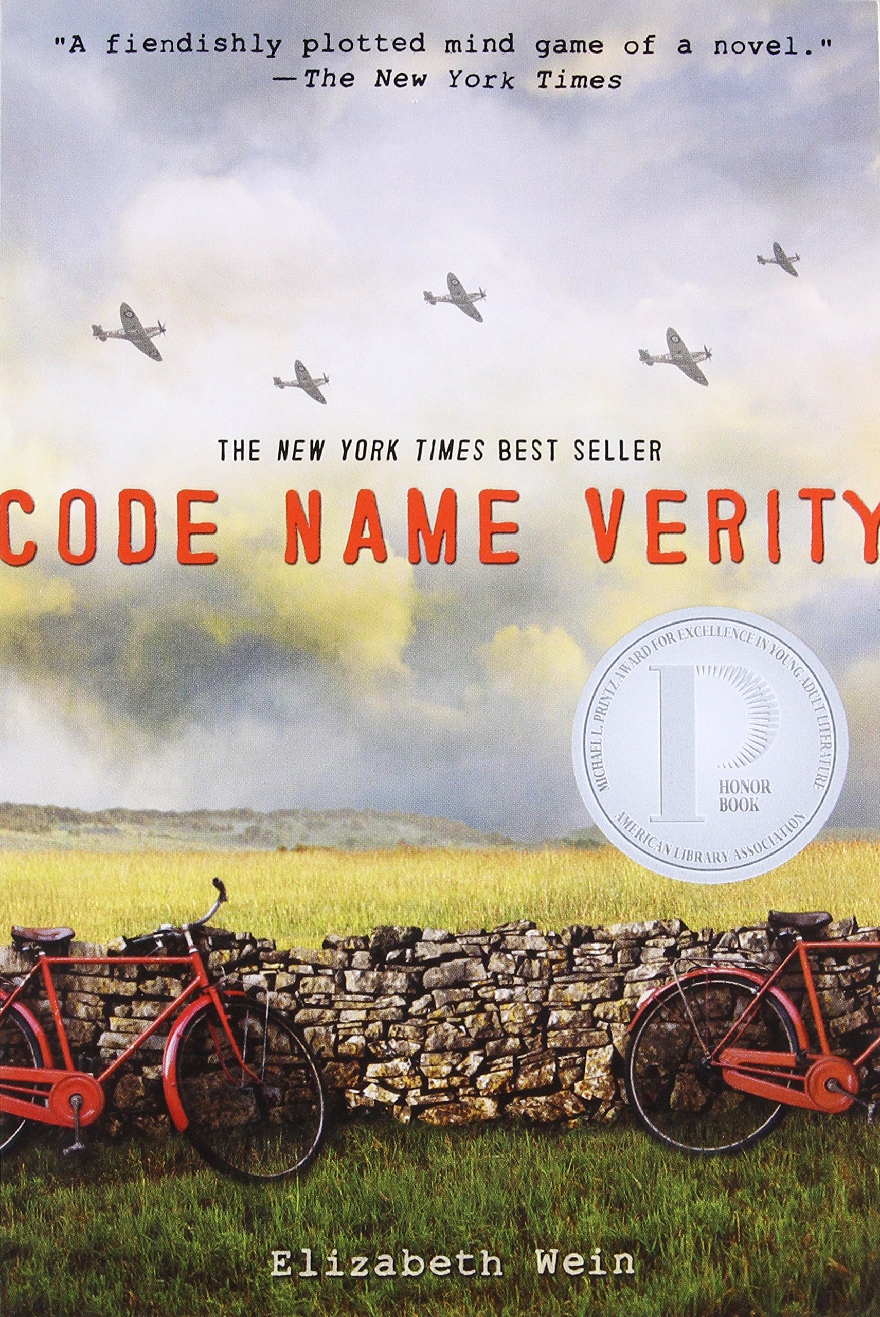 Code Name Verity Elizabeth Wein product image