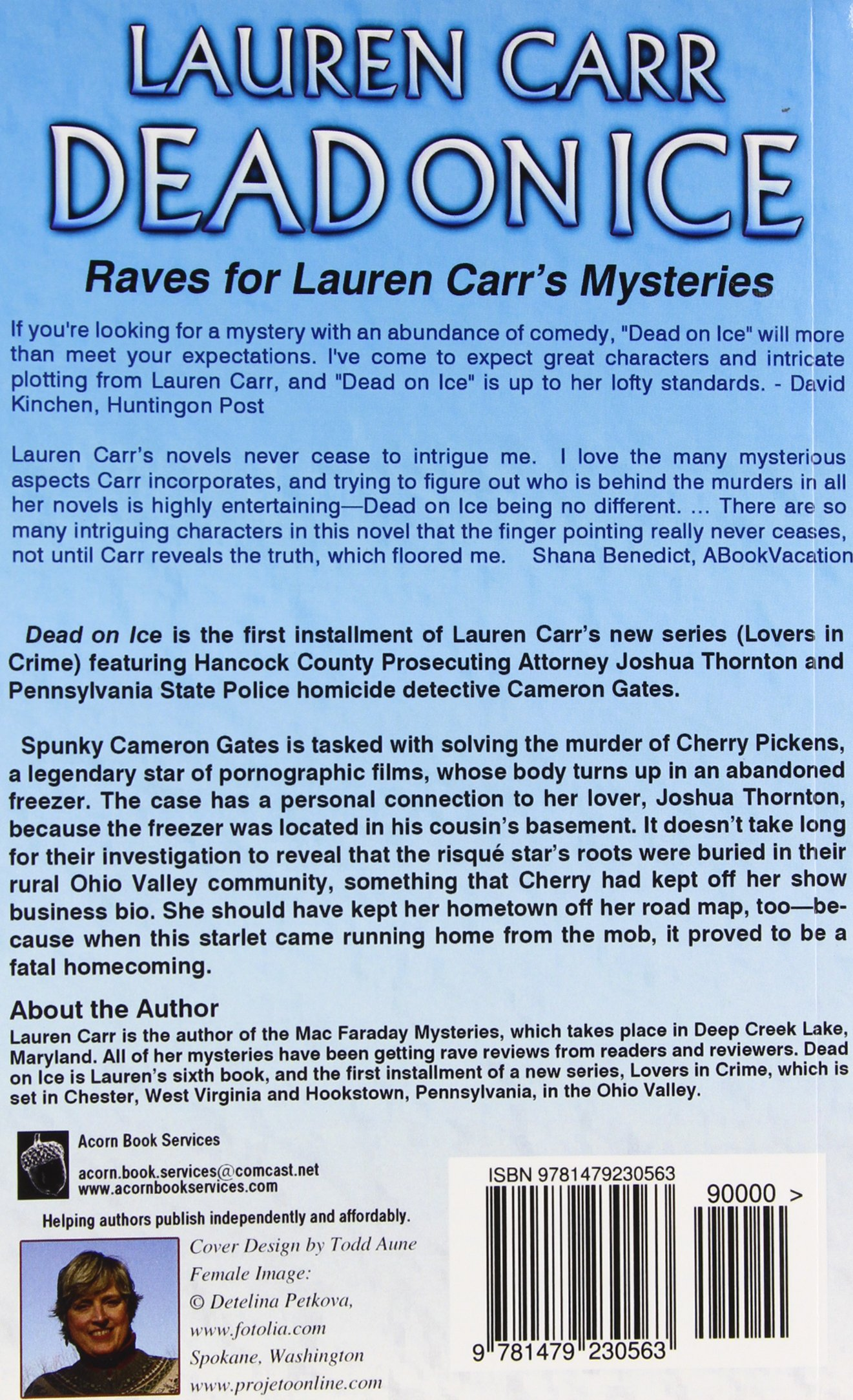 Dead on ice lovers in crime mystery lauren carr 9781479230563 dead on ice lovers in crime mystery lauren carr 9781479230563 amazon books fandeluxe Ebook collections
