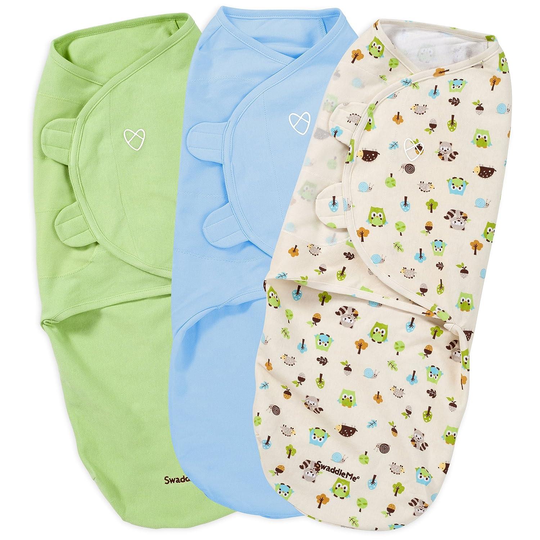 3d8ad582039 Amazon.com  Summer Infant 3 Piece SwaddleMe Adjustable Infant Wrap ...