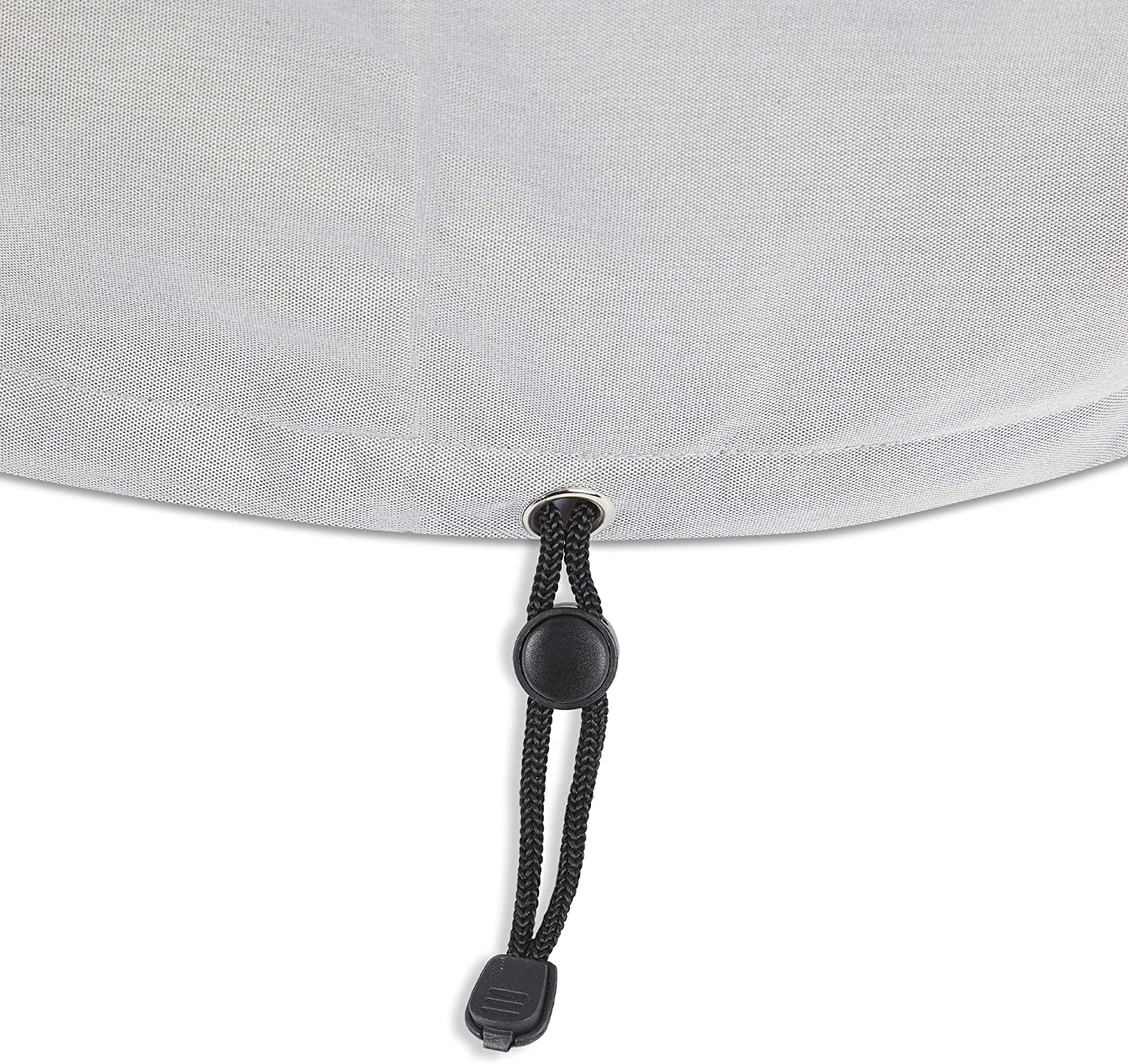 Real Flame A9630 Ventura Square Propane Fire Table Protective Cover Light Gray