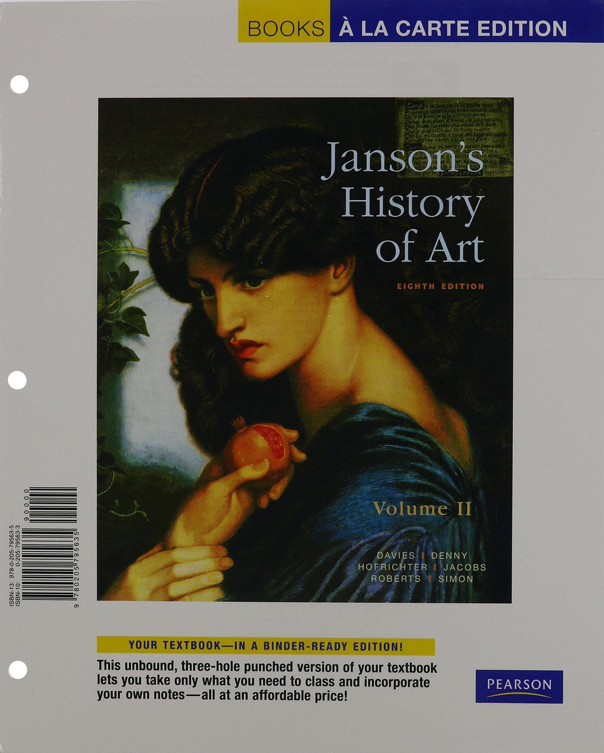 art with access code a brief history books a la carte