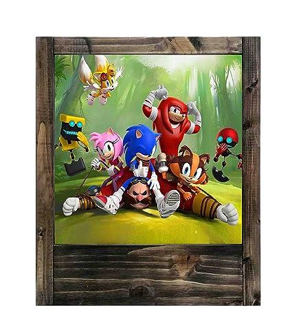Lámpara de madera Sonic Boom: Amazon.es: Iluminación