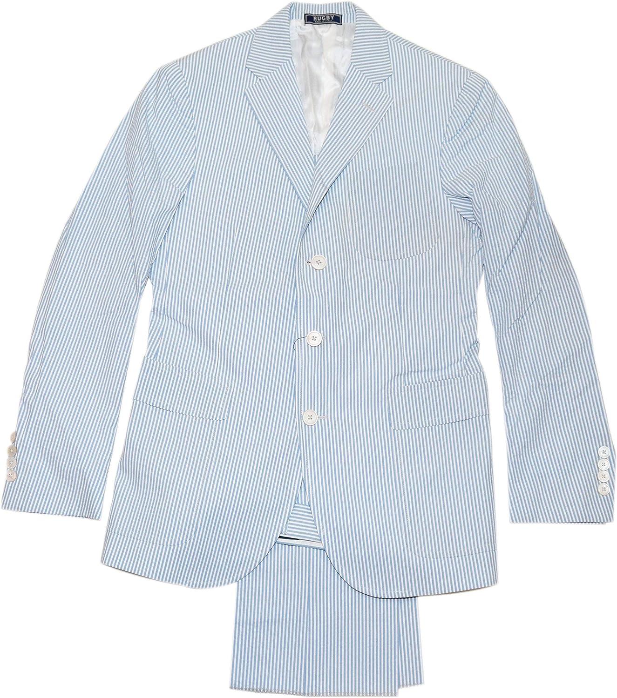 Ralph Lauren Polo Rugby Mens Cotton Suit Blazer Blue Navy