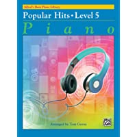 Alfred's Basic Piano Library Popular Hits, Bk 5