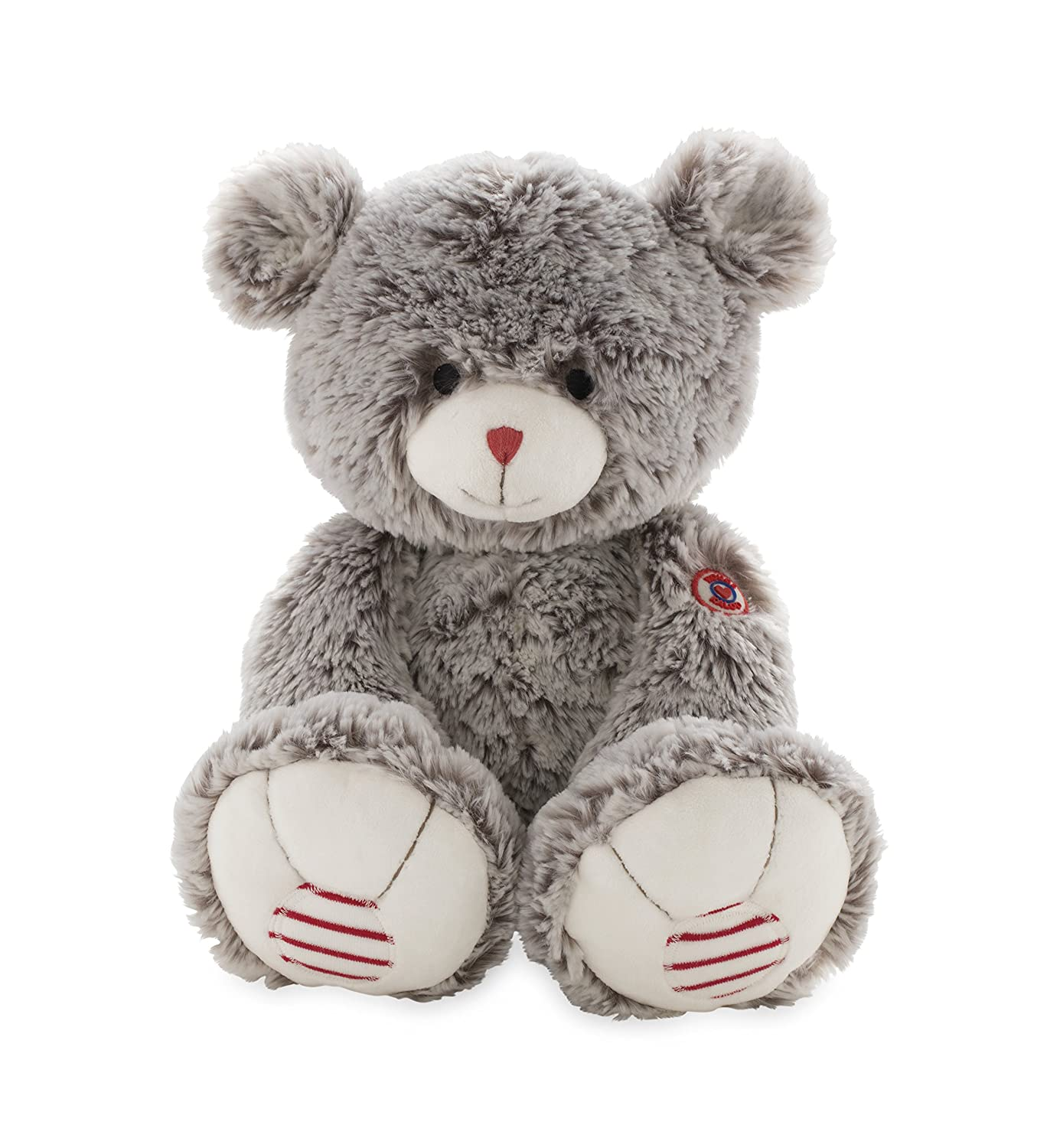 Kaloo Rouge Lapin Peluche Gris Taille Grand Juratoys K962984