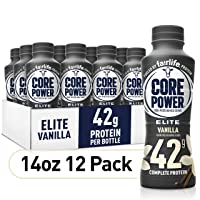 Amazon.com deals on 12Pk Fairlife Core Power Elite High Protein Shake Vanilla 14Oz