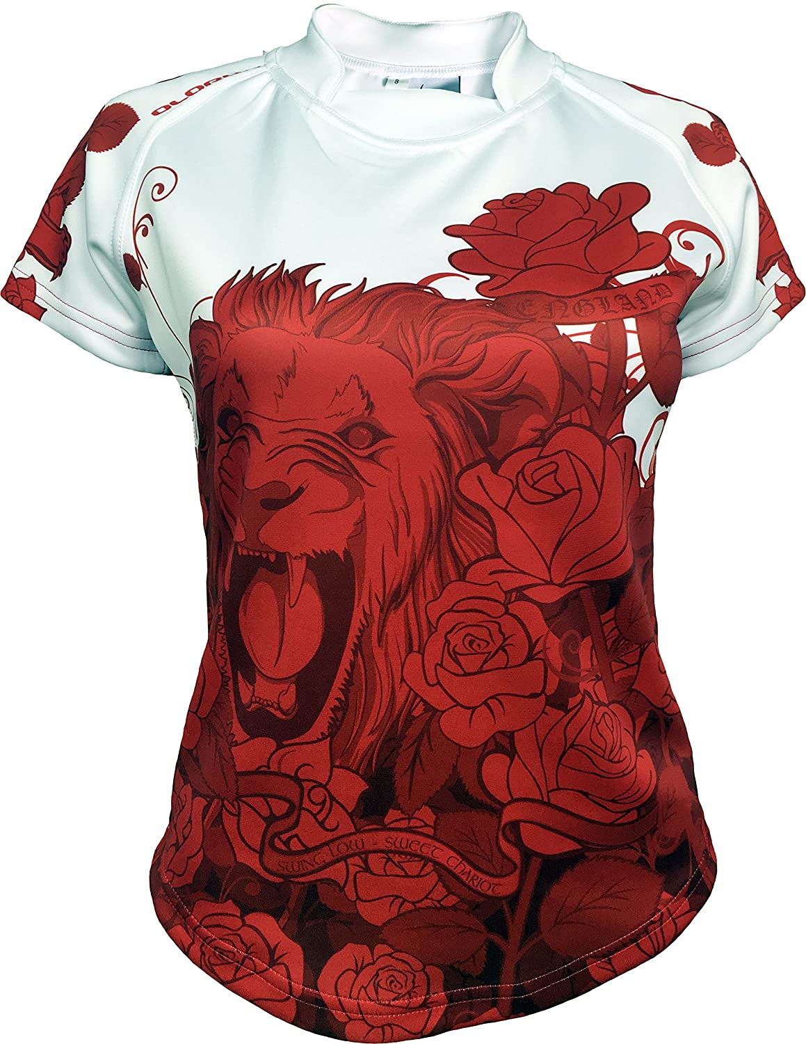 Olorun England Roses Ladies Supporters Exofit Rugby Shirt 08-22 Olorun-Sports