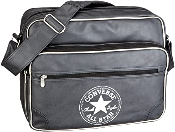 Converse Tasche Retro Messenger, black, 39 X 31 X 16cm, 19.34 liters, 20RTO40 62