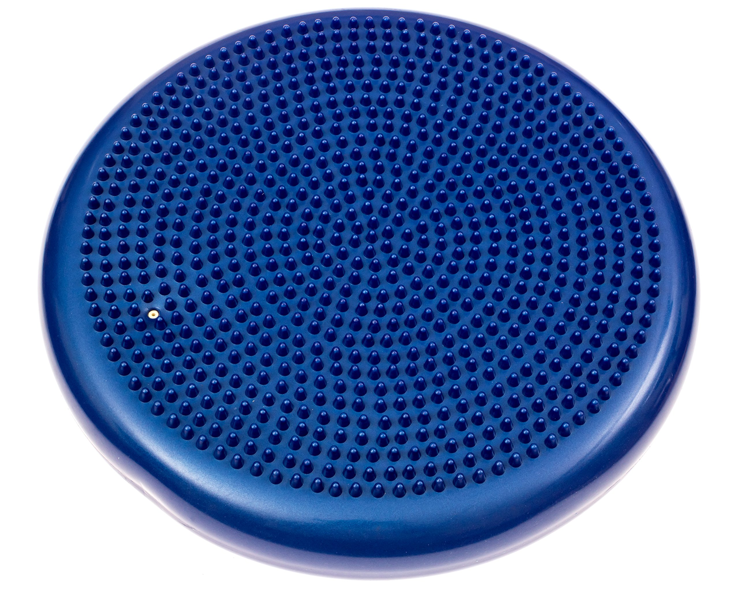 Inflated Stability Wobble Cushion, Including Free Pump / Exercise Fitness Core Balance Disc,Blue,size: 13 inches / 33 cm diameter by bintiva (Image #3)