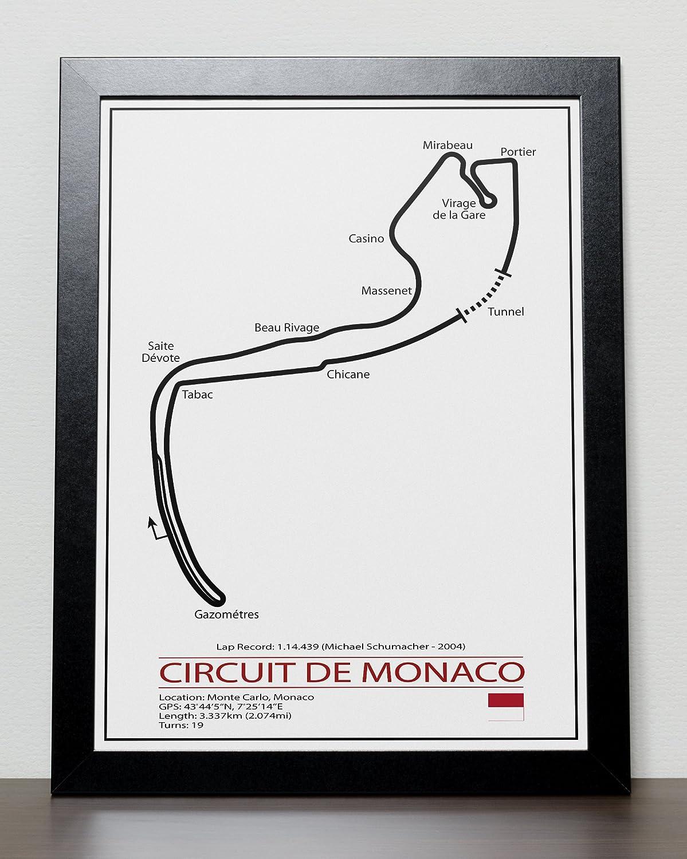 Formula One Formel 1 Poster - F1 Rennstrecke: Amazon.de: Handmade