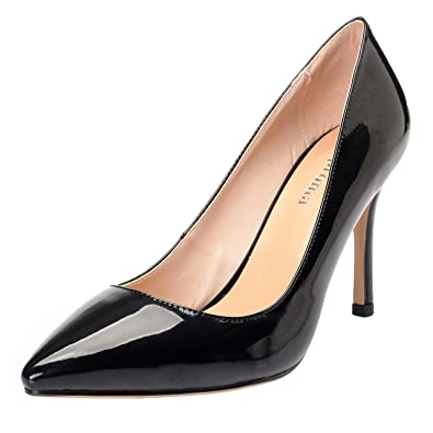 ZAPROMA Frauen Zabstract Sexy Spitzschuh Stiletto Pumps Lady Dress High Heels Farbverlauf Elegante Luxus Schuhe