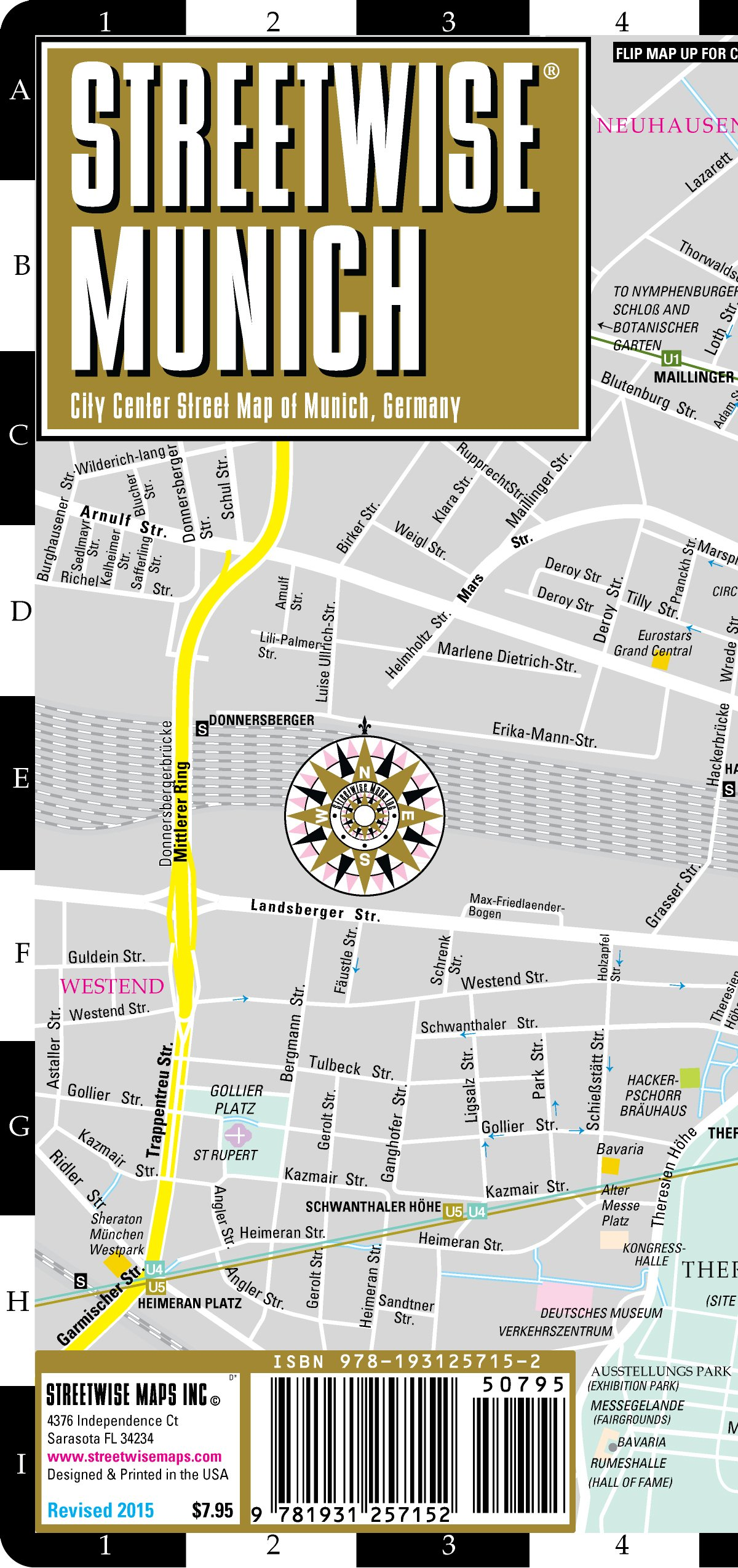 Read Online Streetwise Munich Map - Laminated City Center Street Map of Munich, Germany - Folding pocket size travel map with metro map including S-Bahn & U-Bahn pdf