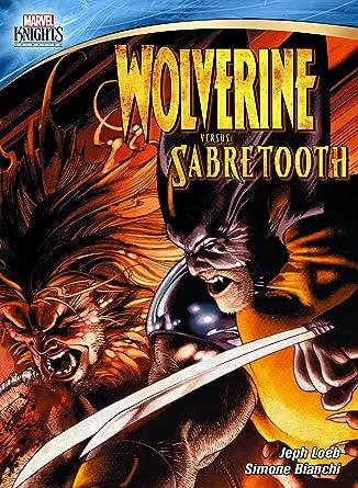 2594ba4bb8c Amazon.com: Marvel Knights: Wolverine Vs. Sabretooth: Wolverine ...
