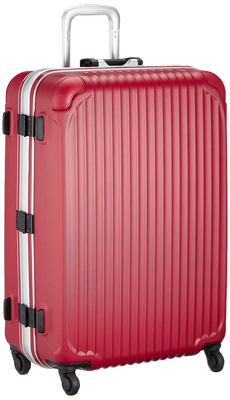 [エスケープ] ハードフレームスーツケース シフレ 1年保証付保証付 90L 75cm 5.5kg ESC1045-68 B01LEDSF08 マットレッド マットレッド