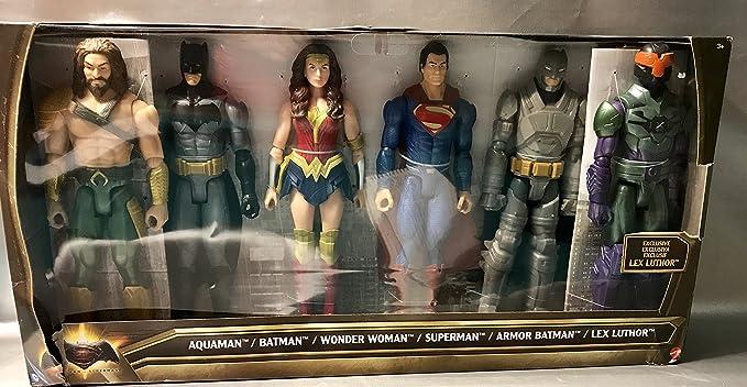 DC Batman v Superman: Dawn of Justice Aquaman, Batman, Wonder ...