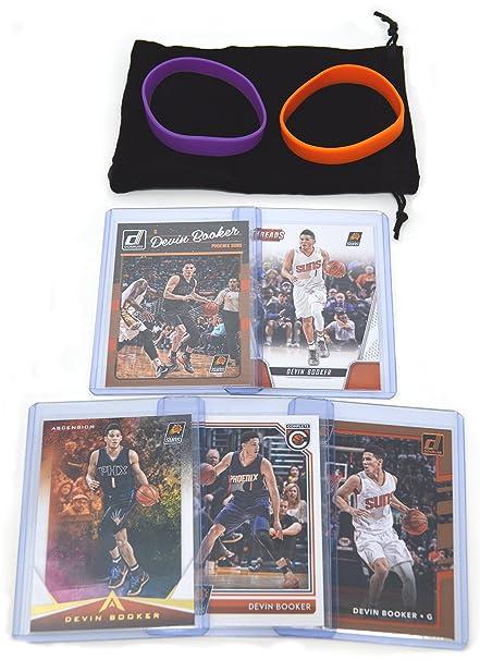 Devin Booker Basketball Cards Assorted (5) Bundle - Phoenix Suns Trading  Cards 036e44b3a