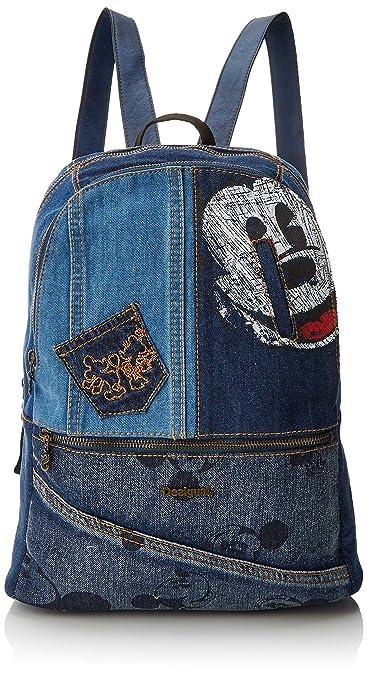 4d7c941062e3 best service e3f96 d0391 desigual bols always milan women s backpack  handbag black negro 13x39.5x31