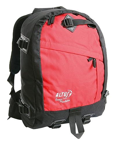 Altus RS - Mochila esquí montaña, Unisex, Color Negro/Rojo, Talla única: Amazon.es: Zapatos y complementos