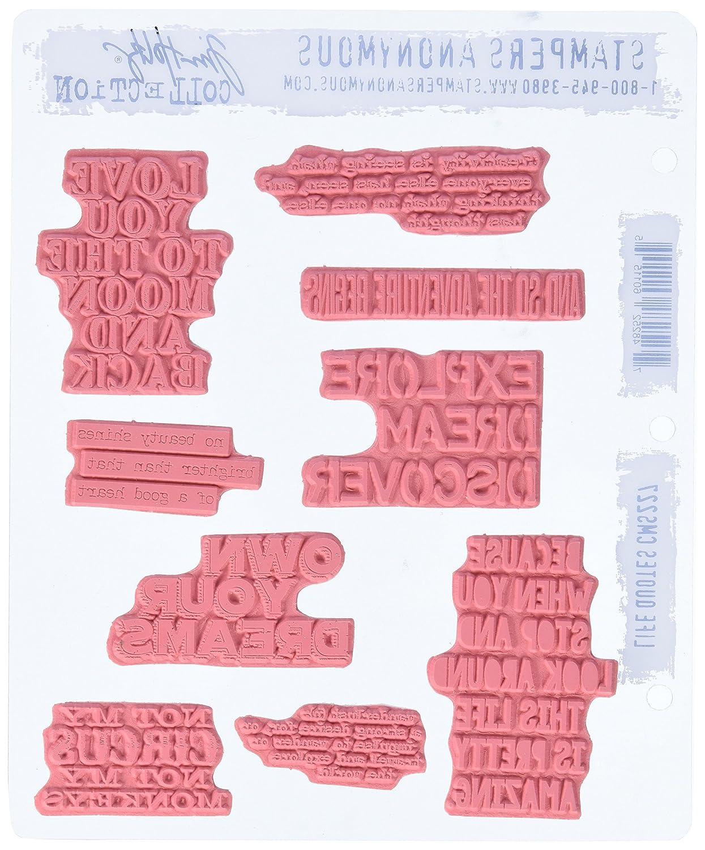 Anzahl Steine Mounted Stamp Stempel Anonymous/_agw Fensterfilm