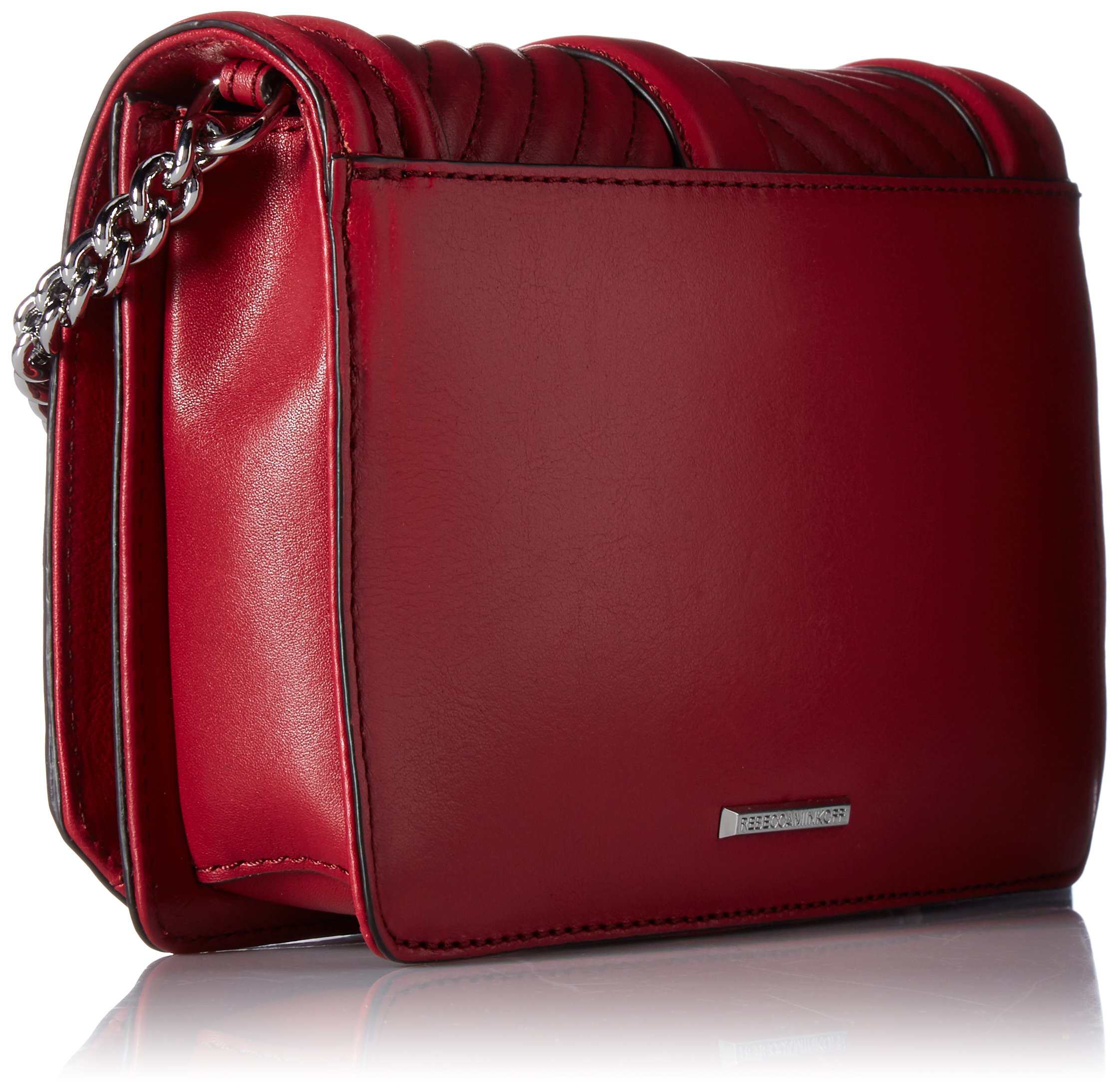 Rebecca Minkoff Chevron Quilted Small Love Crossbody, Beet by Rebecca Minkoff (Image #2)