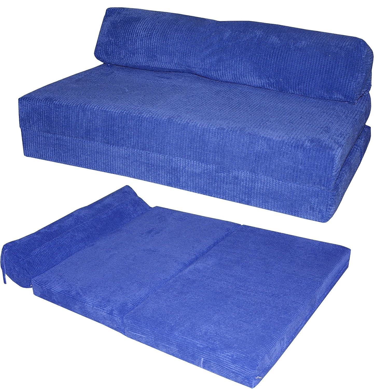 JAZZ SOFABED - OCEAN CORD Deluxe Designer Double Sofa Guest Bed (Black) Gilda Ltd