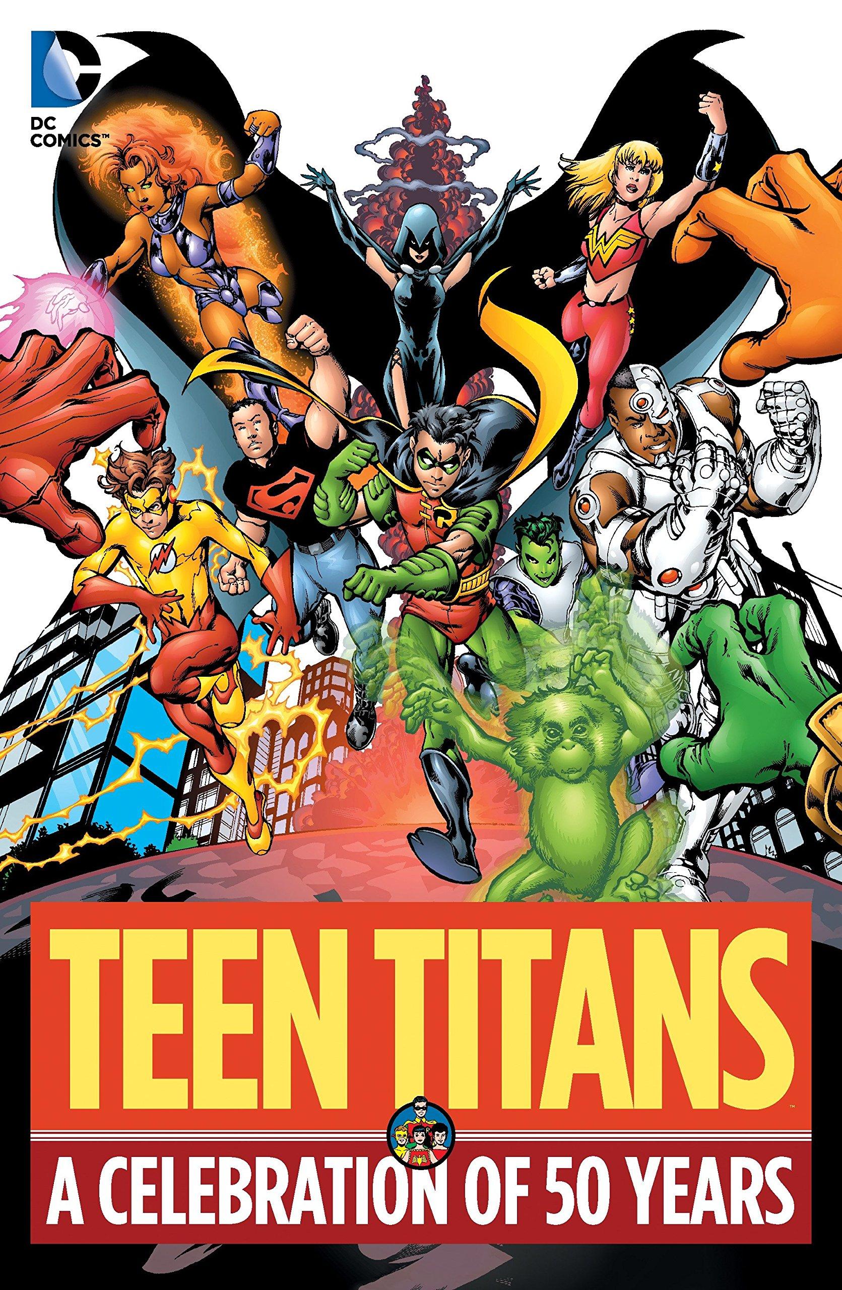 Screenwriter loves teen titans comics