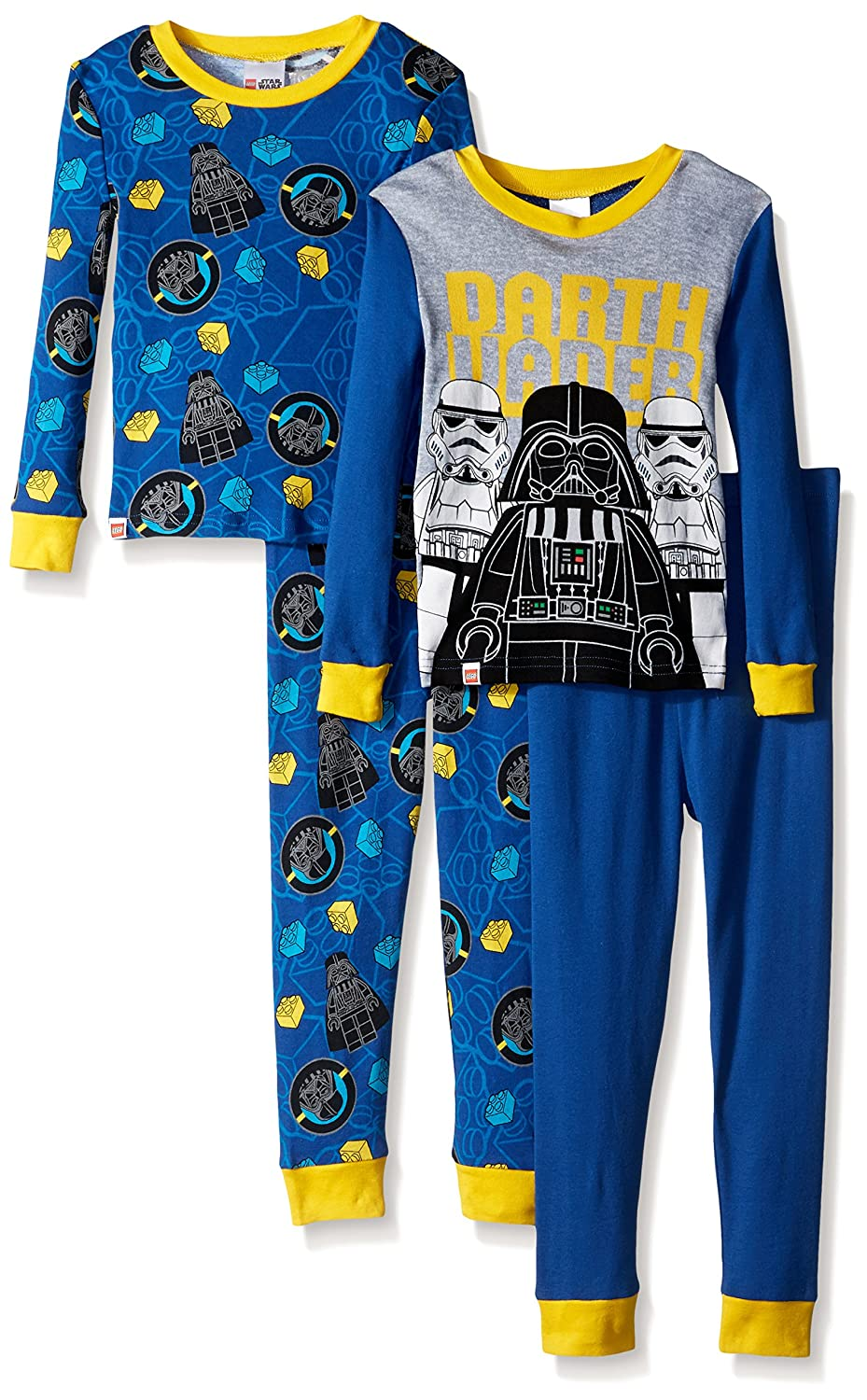 Amazon.com  LEGO Boys  Little Star Wars 4-pc Pajama a84249fff