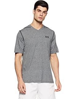 Activewear Tops Mens Under Armour V Neck Loose Shirt Top Athletic Sport Fitness Lg L Large Black Clothing, Shoes & Accessories