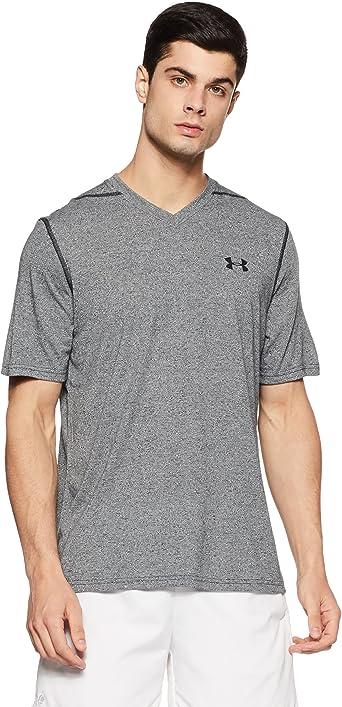 matiz eliminar Teseo  Amazon.com: Camiseta Under Armour Threadborne Siro con escote en V para  hombre: Clothing