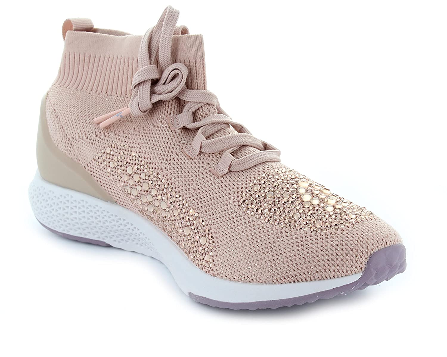 Tamaris Damen Sneaker 25204 High-Top High-Top 25204 Touch-IT Strass Wechsel-Fussbett Lt.pink 587192