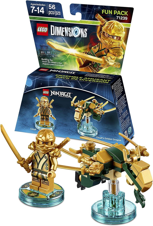 Lego Dimensions Ninjago Lloyd Fun Pack by Warner Bros Games ...