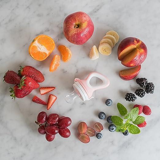 VRÜLI Chupete para comida de bebé, frutas y verduras ...