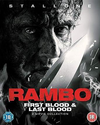 Rambo: First Blood & Last Blood 2 Blu-Ray Edizione: Regno Unito Italia Blu- ray: Amazon.es: Cine y Series TV