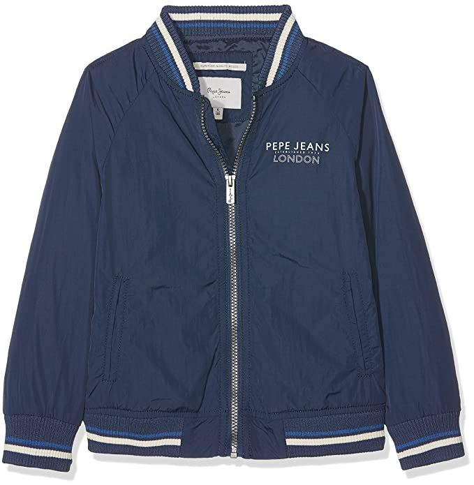 brand new 2cd8f 45cc0 Pepe Jeans Boy's Jacket: Amazon.co.uk: Clothing