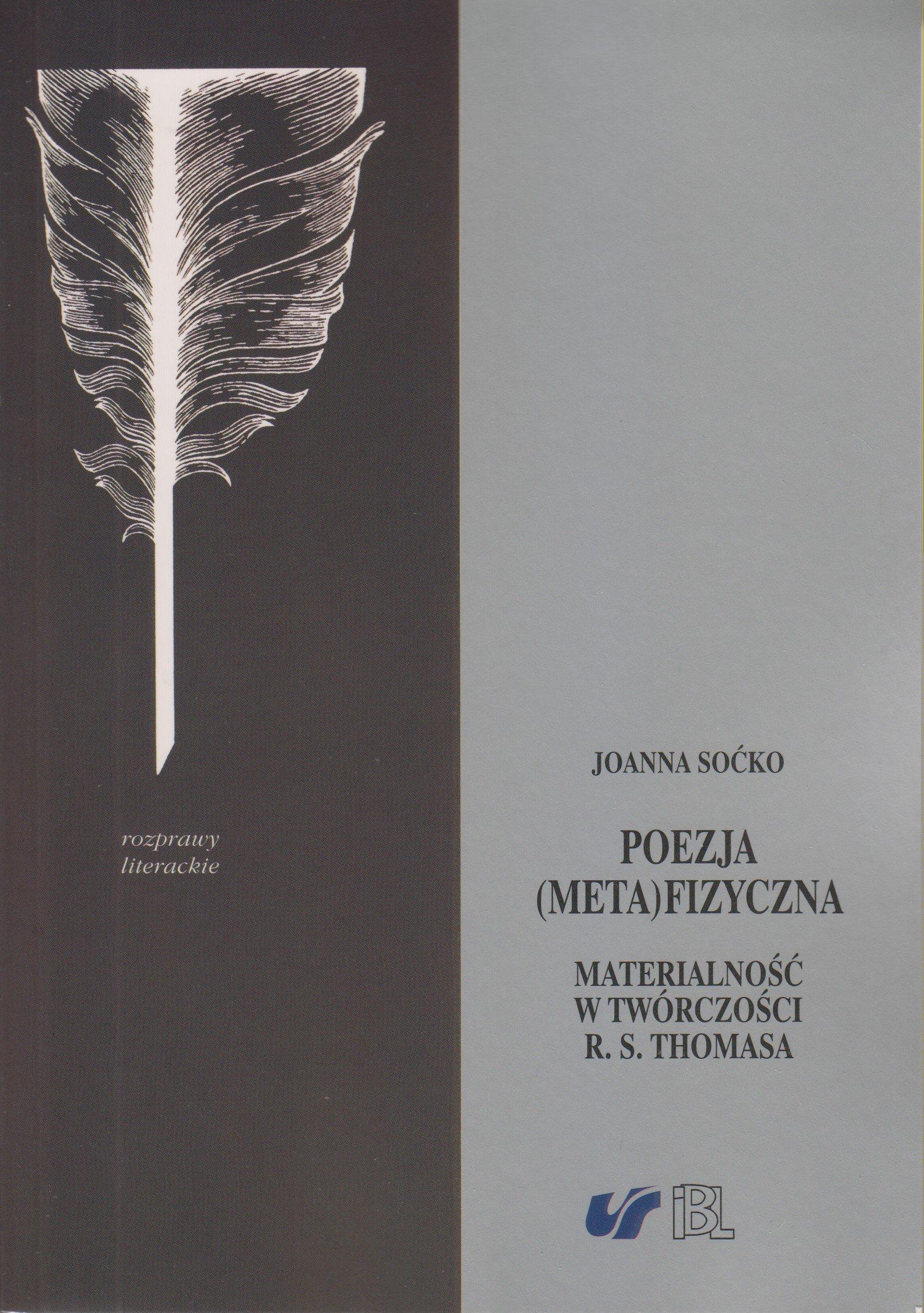 Poezja Metafizyczna Amazones Joanna Socko Libros En