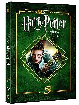 Harry Potter Y La Orden Del Fénix. Edición Coleccionista DVD ...