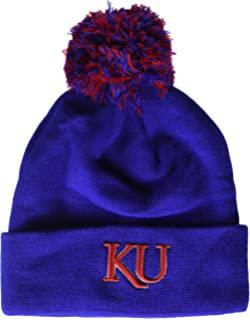 e71a3357205 Amazon.com   adidas NCAA Kansas Jayhawks Women s Cuffed Pom Knit ...