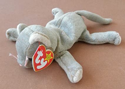 8f71d59b6d6 Amazon.com  TY Beanie Babies Scat The Cat Plush Toy Stuffed Animal ...